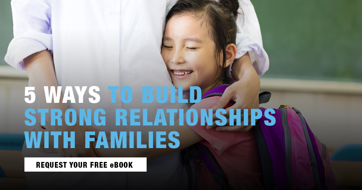 Strong Relationships with Families Web2