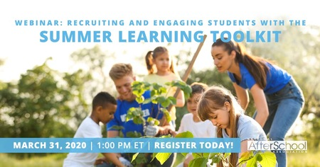 Summer Learning Toolkit & Recruiting and Engaging Students