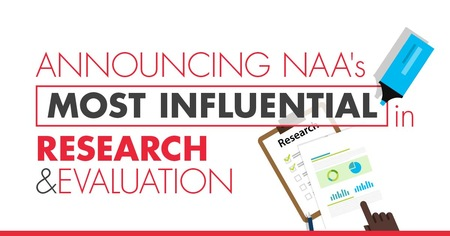 NAA Announces 2018 Most Influential in Research and Evaluation