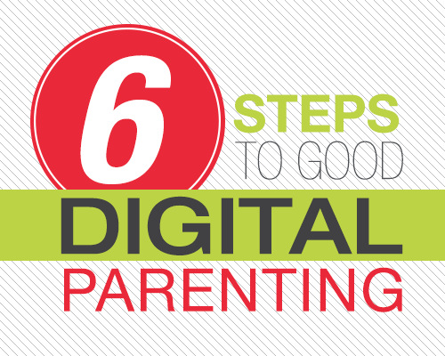 Six Steps to Good Digital Parenting