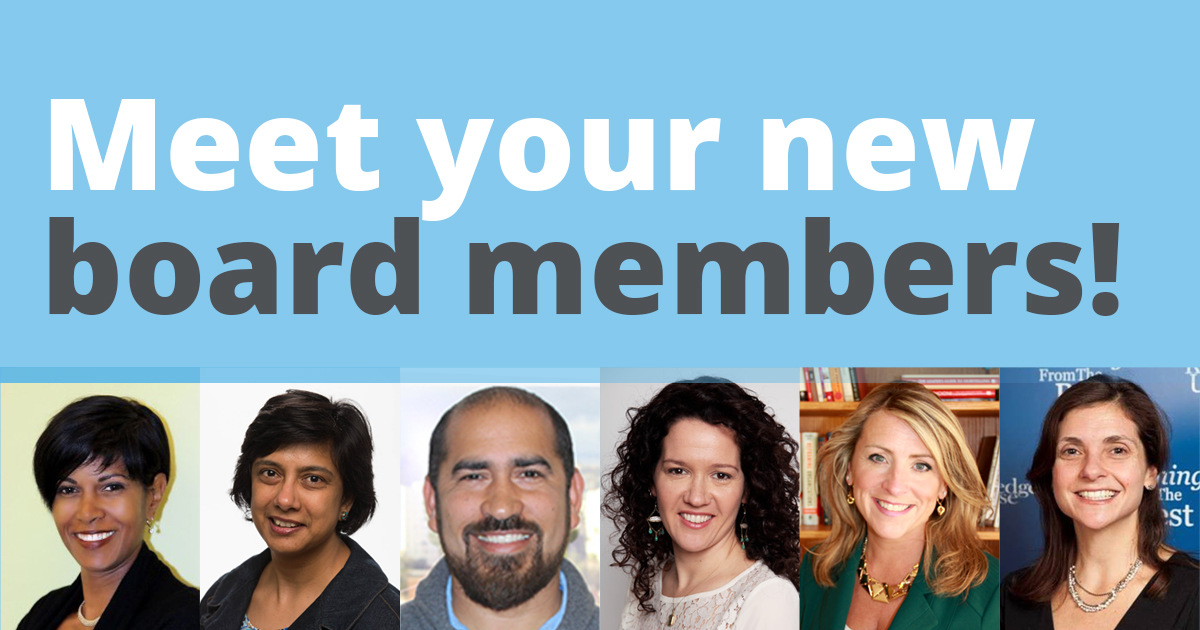 Meet the New NAA Board Members