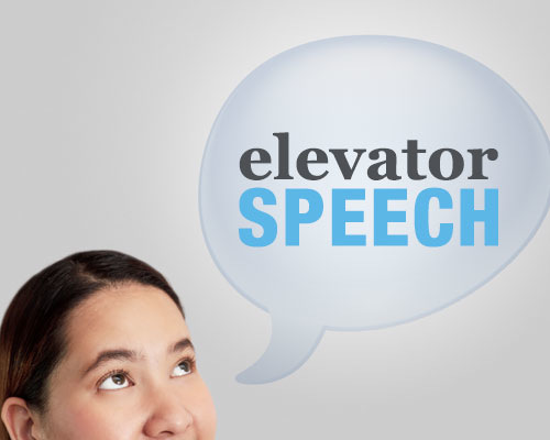 Know Your Elevator Speech