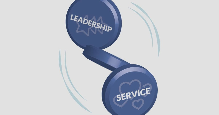 Leadership and Service—Two Sides of the Coin