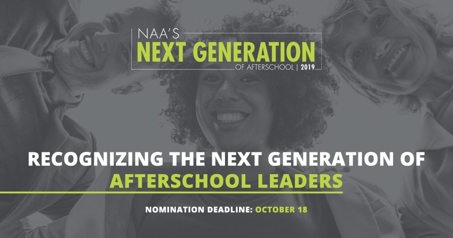 NAA's Next Generation of Afterschool 2019