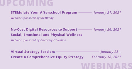 Add These Educational Webinars to Your Calendar!
