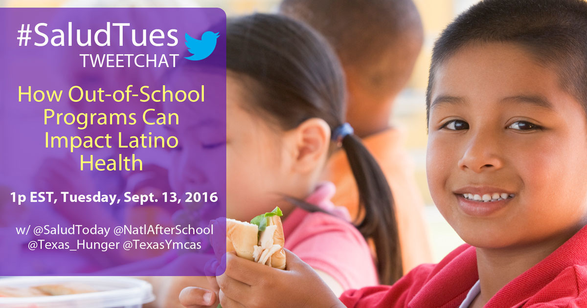 Tweet Chat: How Out-of-School Programs Could Affect #LatinoHealth