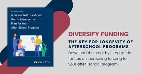 Diversifying: The Key for Longevity of Afterschool Programs