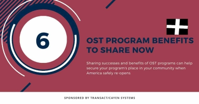 OST Program Benefits to Share Now