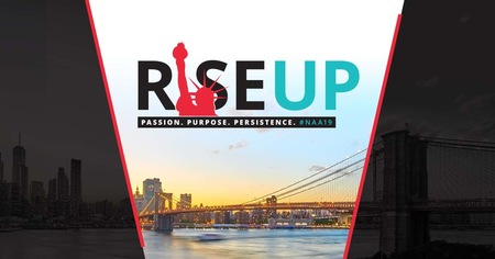 Rise Up! Passion. Purpose. Persistence.