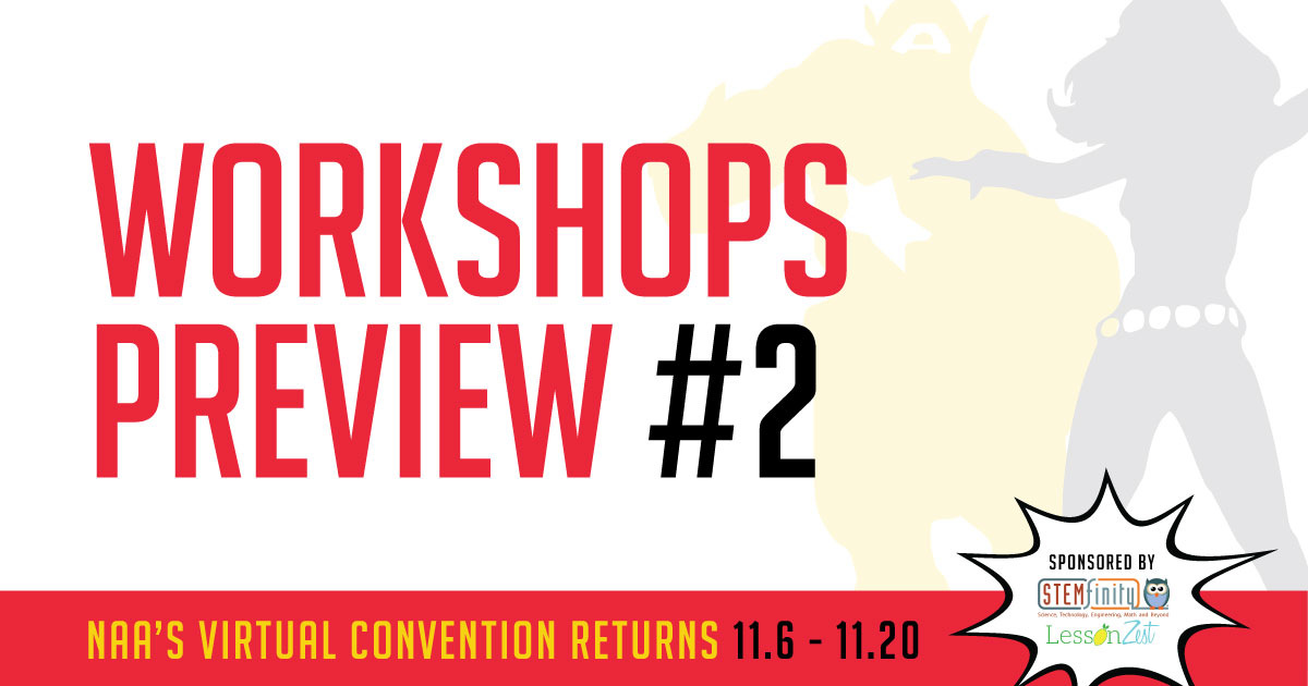 Sneak Peak: Virtual Convention Workshops