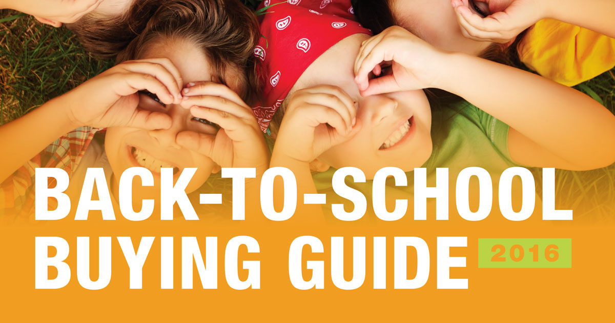 NAA Back-to-School Buying Guide Now Available