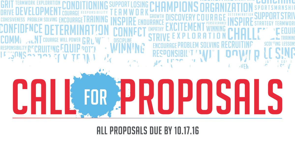 Submit Your Workshop Proposal!