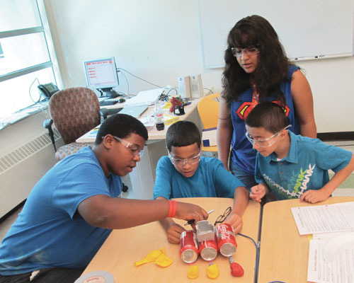 Afterschool STEM Credential Underway