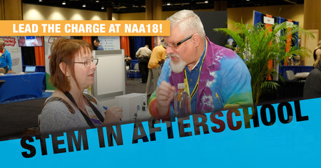 STEM in Afterschool: Lead the Charge at NAA18!