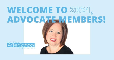 Welcome to 2021, Advocate Members!