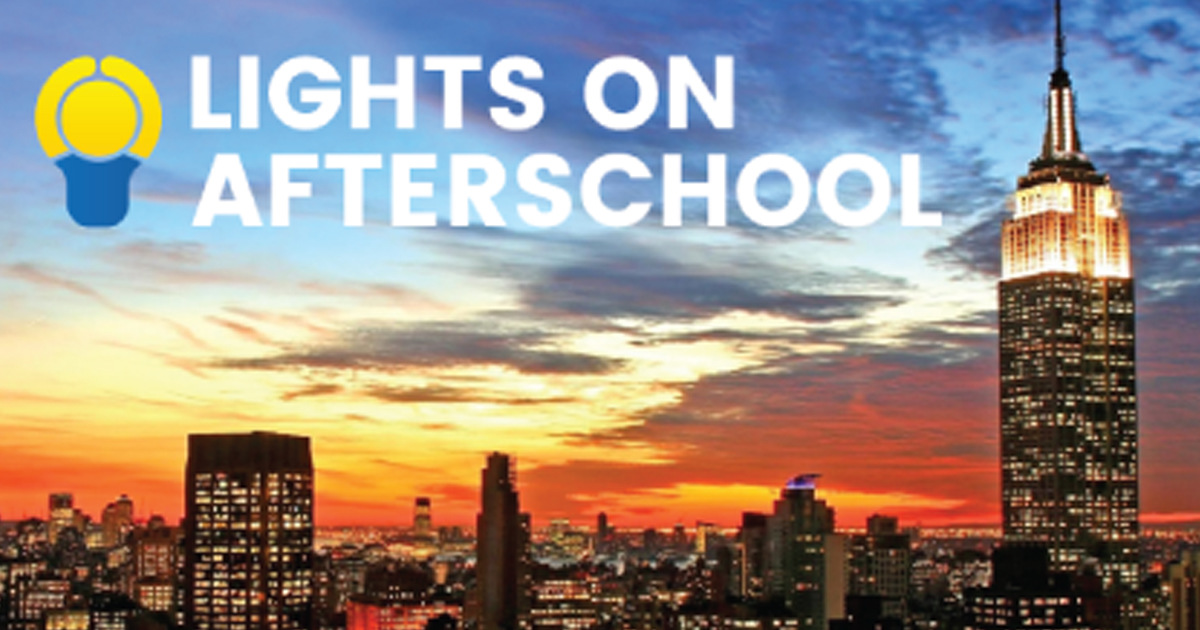 Join the Celebration and Advocate for Afterschool